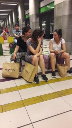 Mango girls la metrou