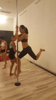Irina in actiune la priza fixa