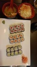 When in Paris.. get sushi