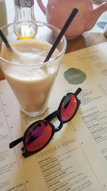 Simbio's latte