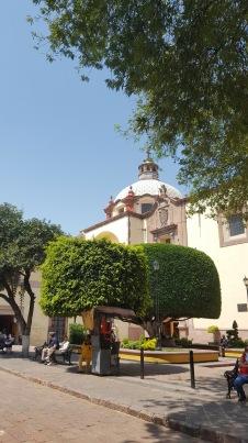 Centrul istoric al Santiago de Queretaro