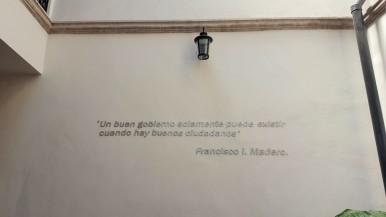 Hotel Madero hallway