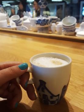 Goede morgen mijn vriendinnen! Een kopje koffie alst je blieft