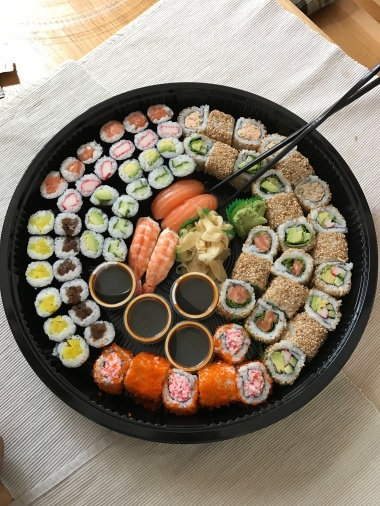 For the love of sushi. Sushi to go.