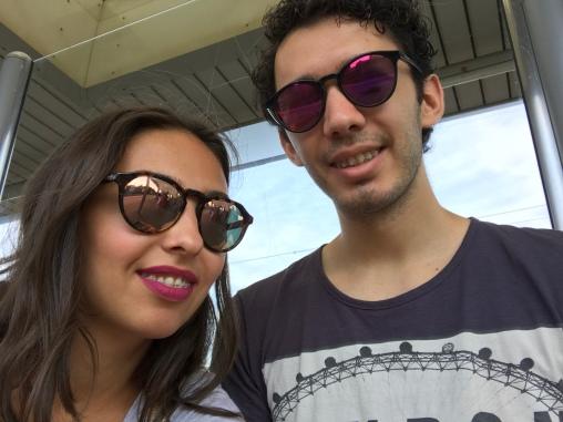 Hai cu trenul .. și cu selfieul :)