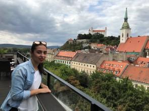 Bratislava Castle - Skybar view